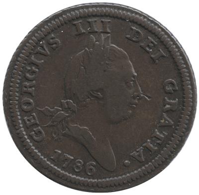 マン島の銅貨