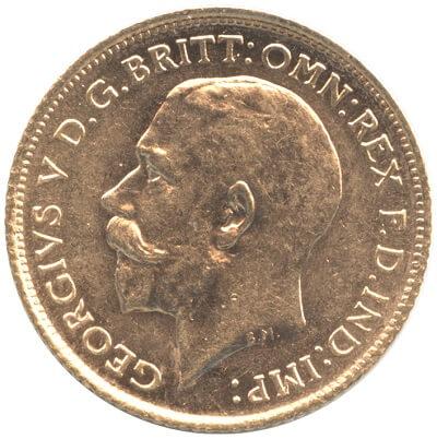 ジョージ5世の金貨