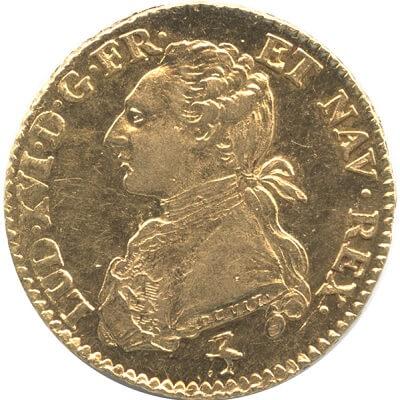 ルイ16世のアンティークコイン