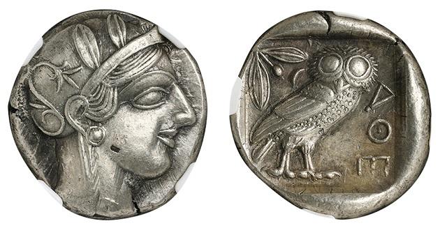古代ギリシャのコイン