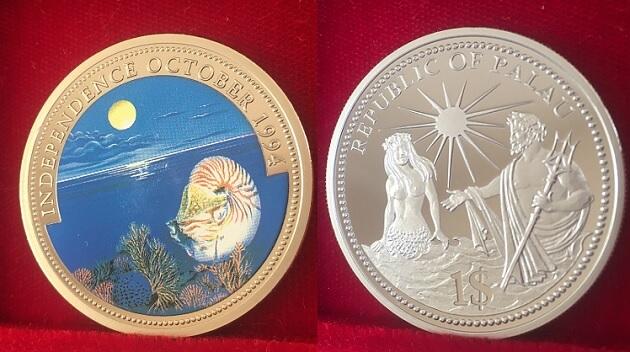 パラオの記念コイン